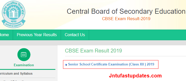 CBSE 12th Result 2019 (Released) - Cbseresults nic in Plus
