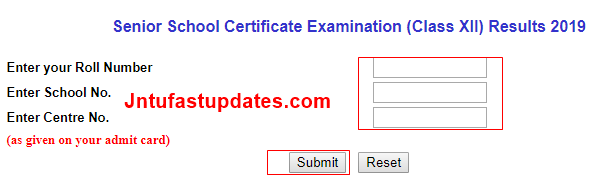 CBSE 12th Result 2019 (Released) - Cbseresults nic in Plus Two