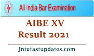 AIBE Result 2021