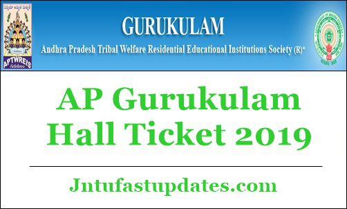 AP Gurukulam Hall Ticket 2019