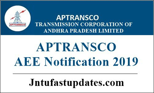 APTRANSCO AEE Notification 2019