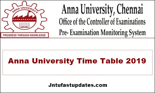 Anna-University-Time-Table-2019