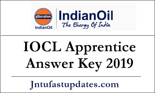 IOCL Apprentice Answer Key 2019