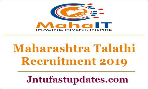 Maharashtra Talathi Recruitment 2019