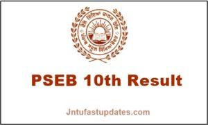 PSEB-10th-Result-2019