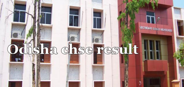 CHSE Odisha Arts, Commerce Result 2019 (Released) - Odisha