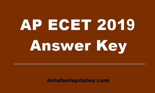 AP ECET answer key 2019