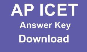 AP ICET answer key 2019