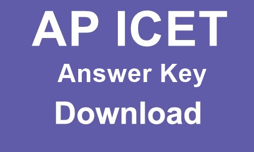 AP ICET answer key 2020