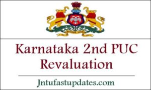 Karnataka 2nd PUC Revaluation 2019
