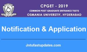 TS CPGCET 2019