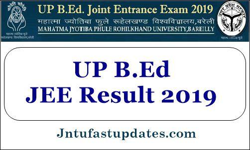 UP B.Ed JEE Result 2019