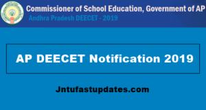 ap deecet 2019 notification