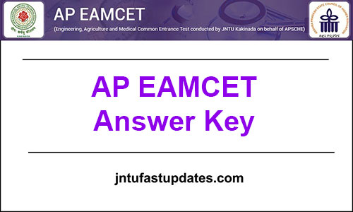 AP EAMCET Answer Key 2019 Download (Released) For 20, 21, 22, 23, 24