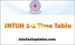 jntuh-1-2-time-table