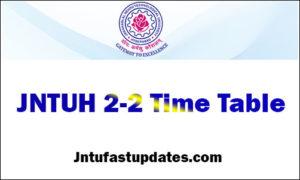 jntuh-2-2-time-table