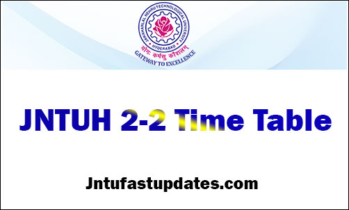 jntuh-2-2-time-table