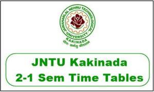 jntuk-2-1-time-table-2019