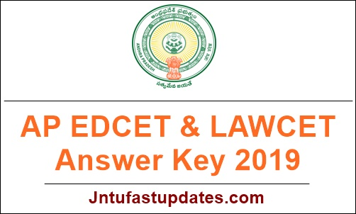 AP EDCET & LAWCET Answer Key 2019