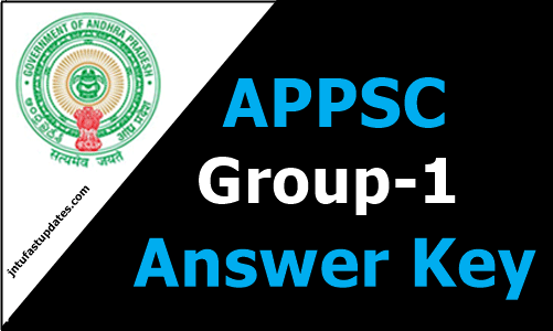 APPSC Group 1 Answer Key 2019