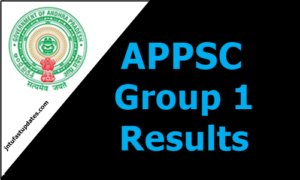 APPSC Group 1 results 2019