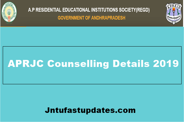 APRJC Counselling Dates 2019