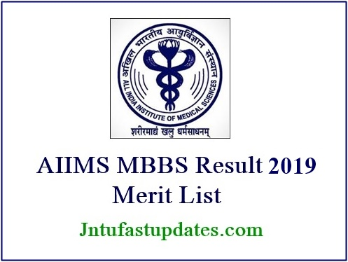 AIIMS MBBS Results 2019