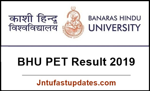 BHU PET Result 2019