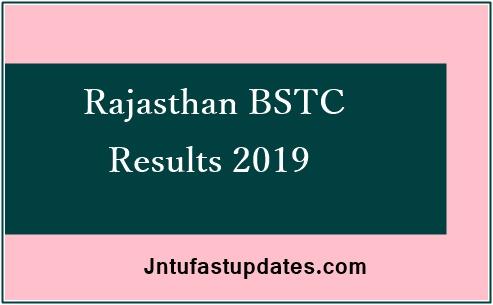 Rajasthan BSTC Result 2019