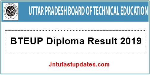 BTEUP Result 2019 - 2nd, 4th, 6th Sem UP Polytechnic Diploma Results