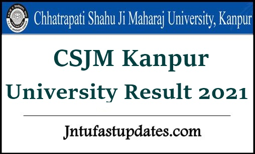 CSJM Kanpur University Result 2021