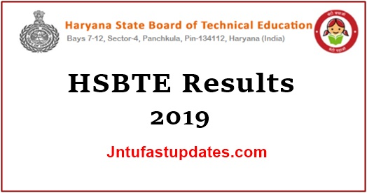 HSBTE Results 2019