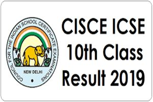 ICSE 10th results 2019
