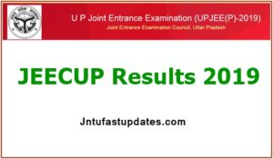 JEECUP Result 2019