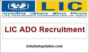 LIC ADO Recruitment 2019 Notification