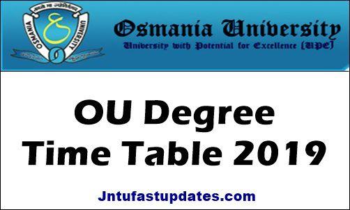 OU-Degree-Time-Tables-2019
