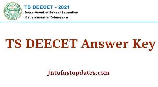 TS DEECET Answer Key 2021