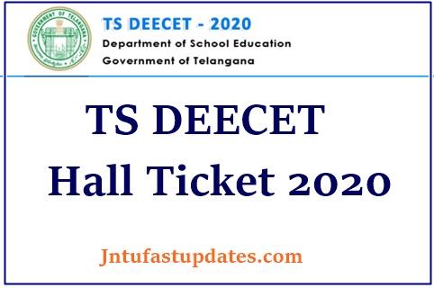 TS DEECET Hall TIcket Download 2020