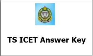 TS ICET Answer Key 2019