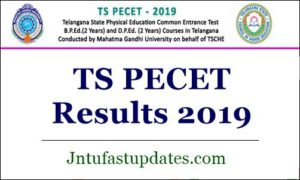 TS PECET Results 2019