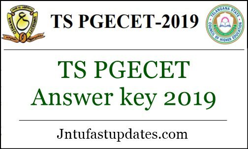 TS PGECET Answer key 2019