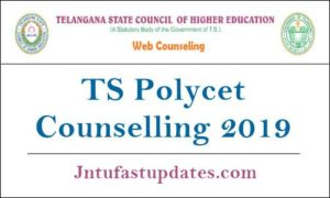 TS Polycet Counselling 2019