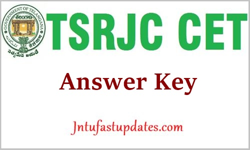 TSRJC Answer Key 2021