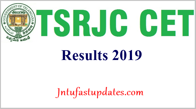 TSRJC Results 2019 (Released) - Telangana RJC CET Result, Rank Card