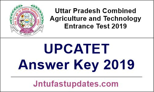 UPCATET Answer Key 2019