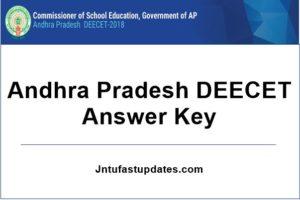 ap deecet answer key 2019