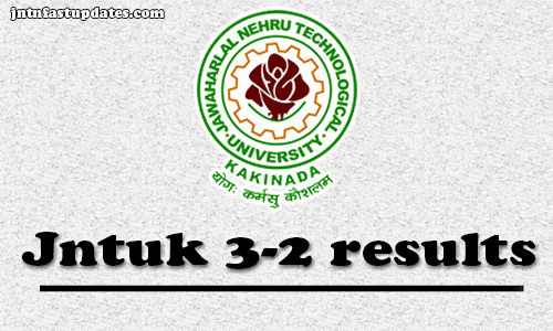 Jntuk Btech 3 2 Results April 2019 Released For R16 R13 R10