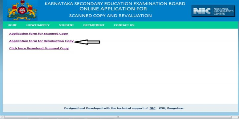 karnataka sslc REVALUATION COPY