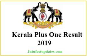 Kerala Plus One Results 2019