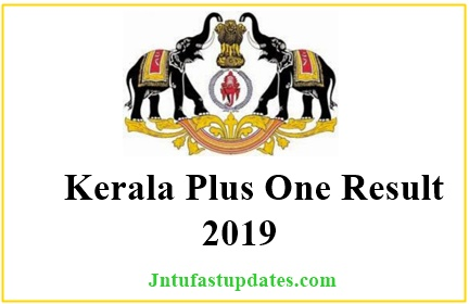 Kerala Plus One Results 2019